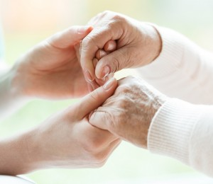 Close-up of holding hands